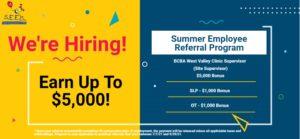 S.E.E.K. AZ Summer Employee Referral Program